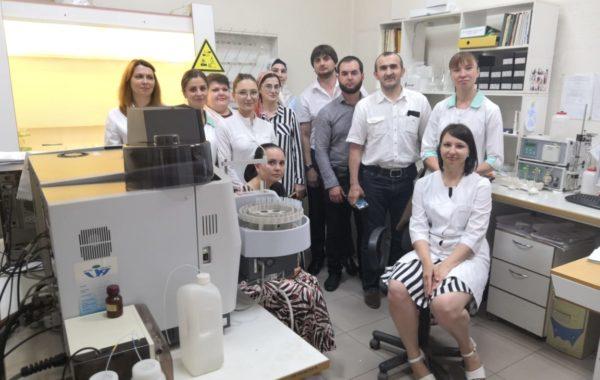 Встреча сотрудников лаборатории филиала ЦЛАТИ по Ставропольскому краю с делегацией Республиканской многопрофильной Гимназии Республики Ингушетия