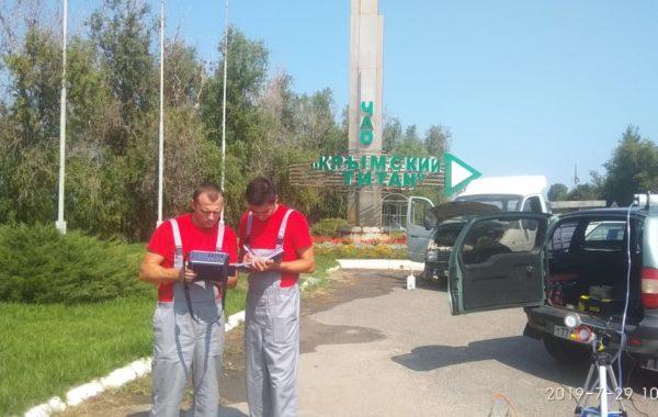 Участие сотрудников филиала ЦЛАТИ по Ставропольскому краю в выездной проверке в Республике Крым.